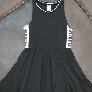 VS Pink Black Dress Size Large